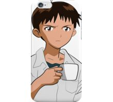 Shinji Ikari iPhone Case/Skin