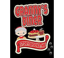 Granny's Diner Photographic Print