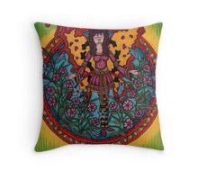 Fairy Circle Throw Pillow
