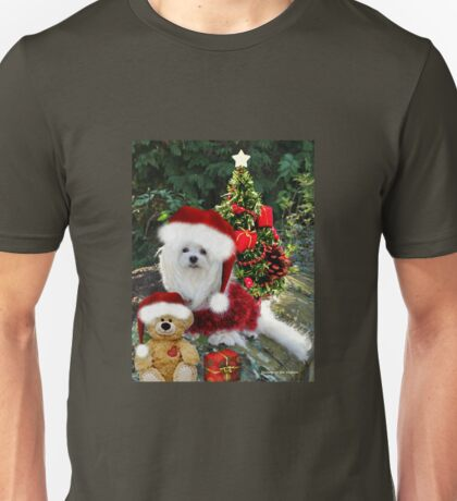 Snowdrop the Maltese & Little Ted Unisex T-Shirt
