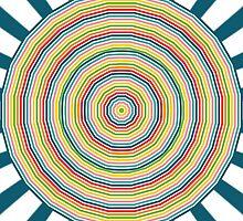 Rainbow circles by lalylaura