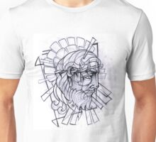 Stained Glass Jesus Unisex T-Shirt