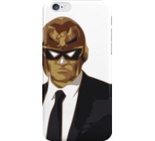 Captain Falcon in Formal Attire iPhone Case/Skin