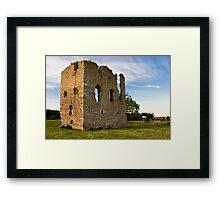 Hallforest Castle in Kintore, Aberdeenshire, Scotland Framed Print