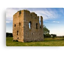 Hallforest Castle in Kintore, Aberdeenshire, Scotland Canvas Print