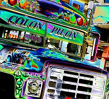 bus to Mexico by John Armstrong-Millar