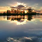 Tranquil lake by engride