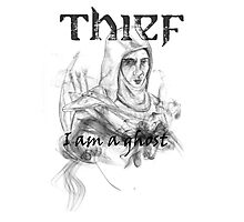 Thief, i am a ghost Photographic Print