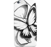 Butterfly Ribbon  iPhone Case/Skin