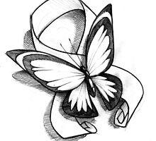 Butterfly Ribbon  by Jeremy Harburn