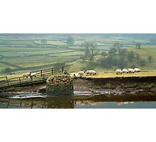 Reeth Swingbridge, Swaledale, 2001 Photographic Print