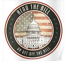 Read The Bill Poster