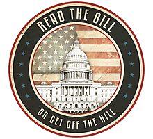 Read The Bill Photographic Print