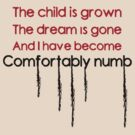 Confortably Numb by gimbolo