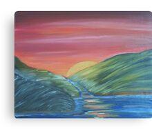 Maggie's Sunset...  Canvas Print