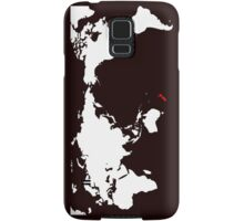 World Map New Zealand Samsung Galaxy Case/Skin