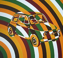 Chaotic Fiat 500 Arc by Annagarside