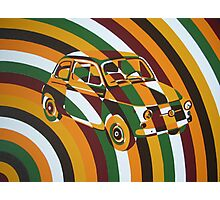 Chaotic Fiat 500 Arc Photographic Print
