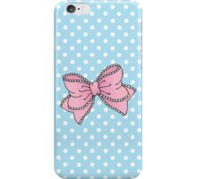 Lacy Bow iPhone Case/Skin