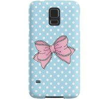 Lacy Bow Samsung Galaxy Case/Skin
