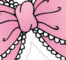 Lacy Bow Sticker