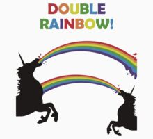 Double Rainbow Unicorn Vomit by jezkemp