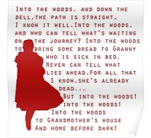 Into The Woods: Little Red Riding Hood  Poster