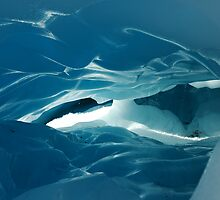 glacier cave by mtths