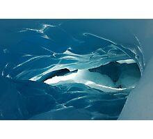 glacier cave Photographic Print