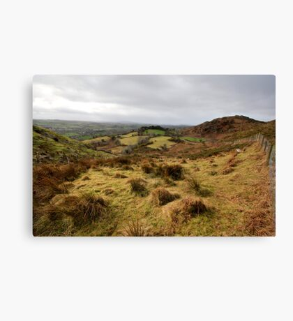 The rolling hills of Bantry Canvas Print