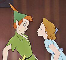 Peter Pan & Wendy by erinsheeranx