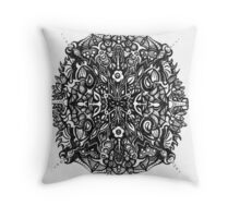 Crystal Complex Duo Throw Pillow