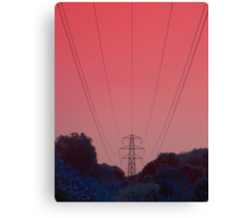 To Break A Calm Sky Canvas Print