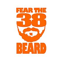 Fear The Beard Photographic Print