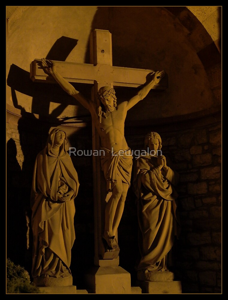Crucifixion by Rowan  Lewgalon