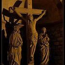 Crucifixion by Rowan  Lewgalon