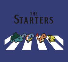The Starters: pokemons in Abbey Road by Uello73
