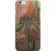 Cobble Tree Street by Ordovich iPhone Case/Skin