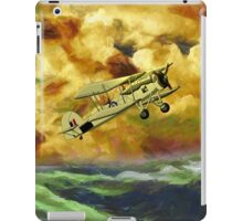 British Swordfish Biplane WWII  iPad Case/Skin