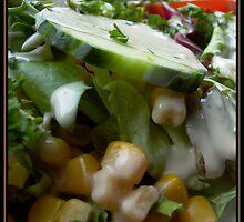 Summer Salad by Rowan  Lewgalon
