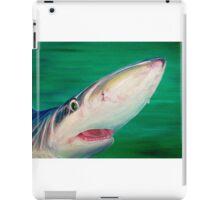 Blue Shark Portrait iPad Case/Skin
