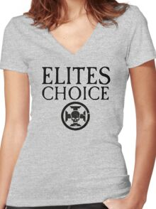 Elites Choice - Force Org Collection Women's Fitted V-Neck T-Shirt