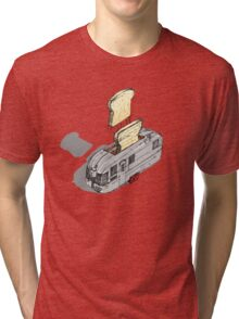 mobile toaster ready to serve Tri-blend T-Shirt