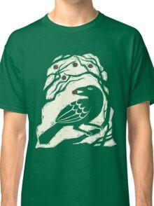 Autumn Berries Bird Print Classic T-Shirt