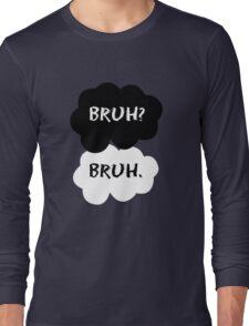 bruh bruh Long Sleeve T-Shirt