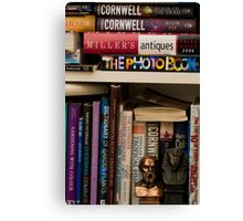 Colourful Reading Canvas Print