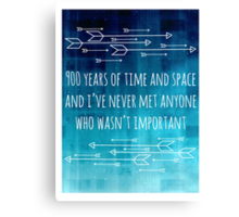 900 Years of Time and Space Canvas Print