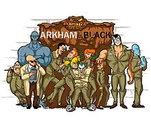Arkham is the New Black by Penelope Barbalios