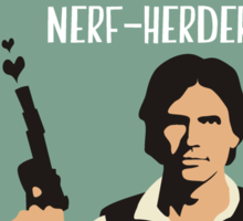 Will You Be My Scruffy-Looking Nerf-Herder? Sticker