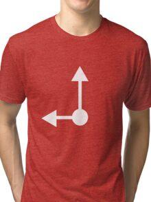 Clock Tri-blend T-Shirt